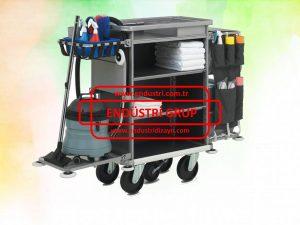 tekerlekli-metal-paslanmaz-celik-personel-medikal-otel-saglik-hastane-laboratuvar-hizmet-temizlik-metal-tasima-servis-arabasi